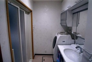 洗面・脱衣室-After