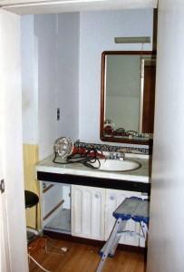 脱衣室‐Before