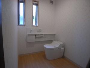トイレ 将来用に介護可能なスペース