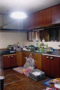 キッチン、ダイニング‐Before